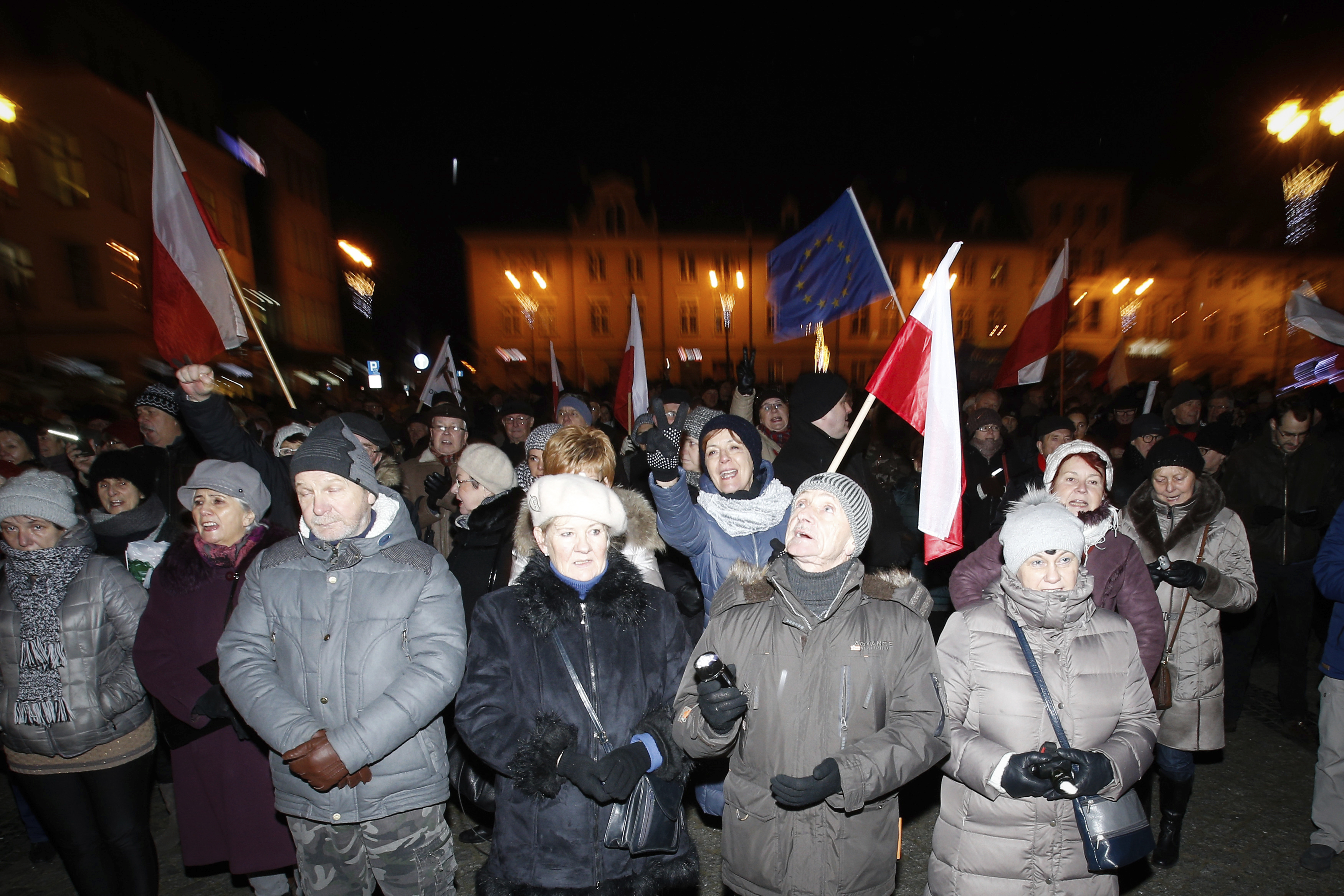 Poland: KOD moviment protest against polish government