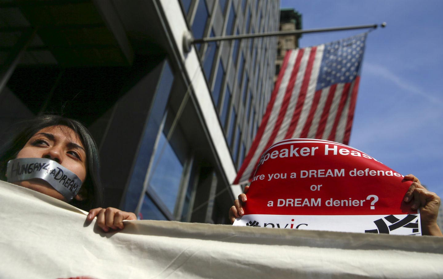 DREAMer to be deported without hearing after speaking to the press
