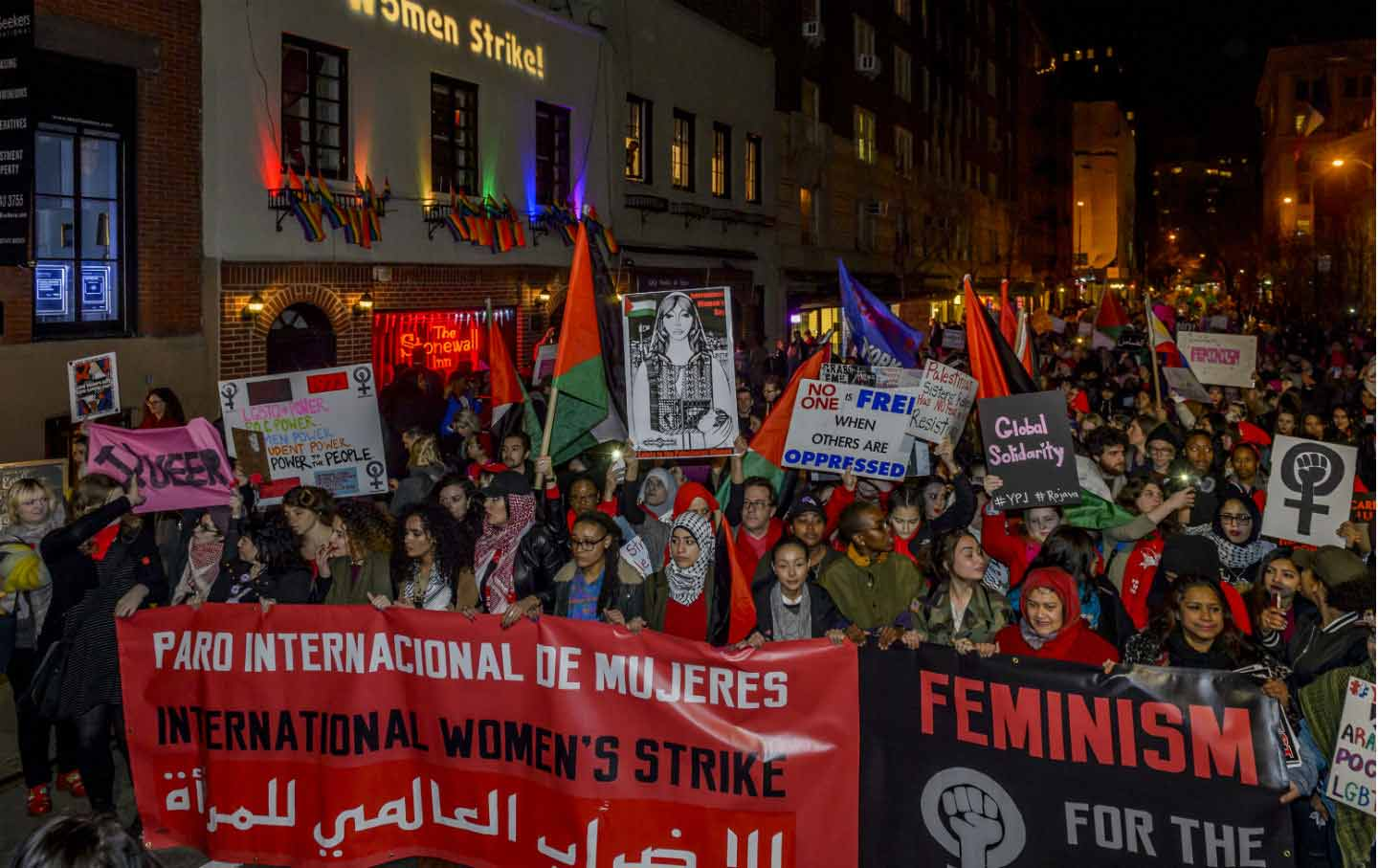 International Women's Strike New York