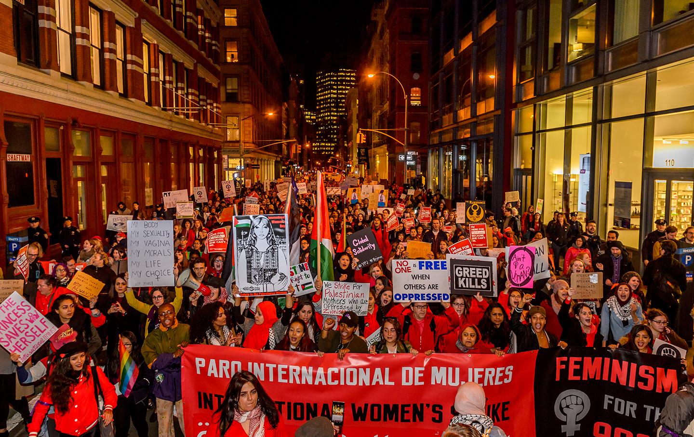 International Women's Day Strike in NYC