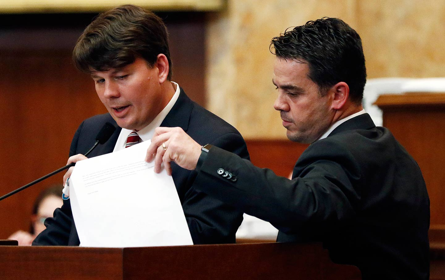 Mississippi State Representative Chris Brown (right) Introduced A New Bill  ϻ�that Would Outsource Eligibility Verification For Social Support Programs
