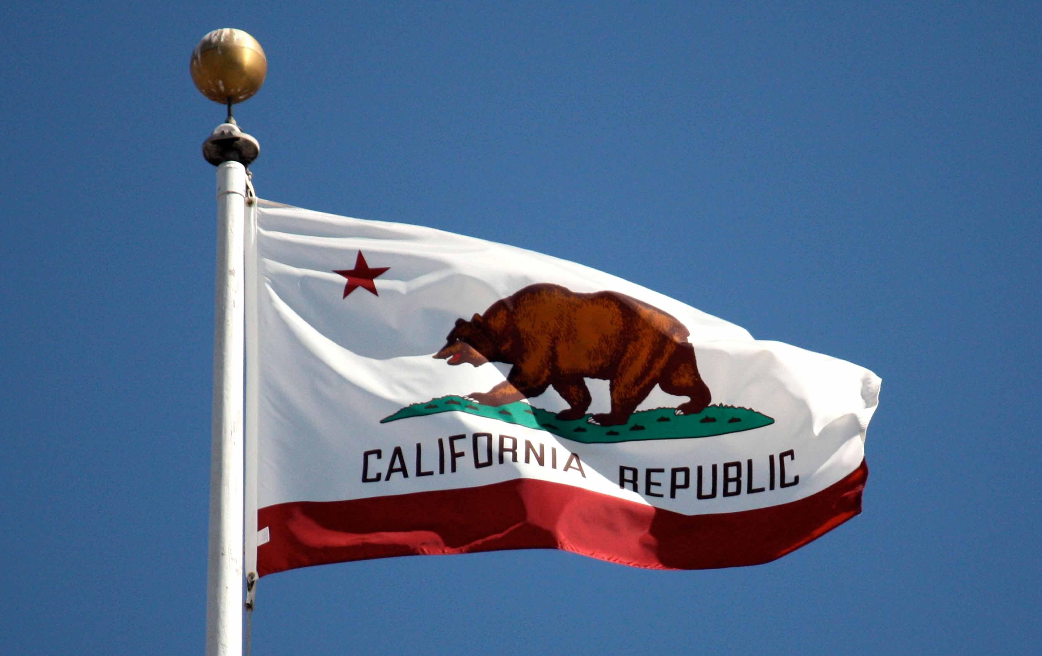 california flag