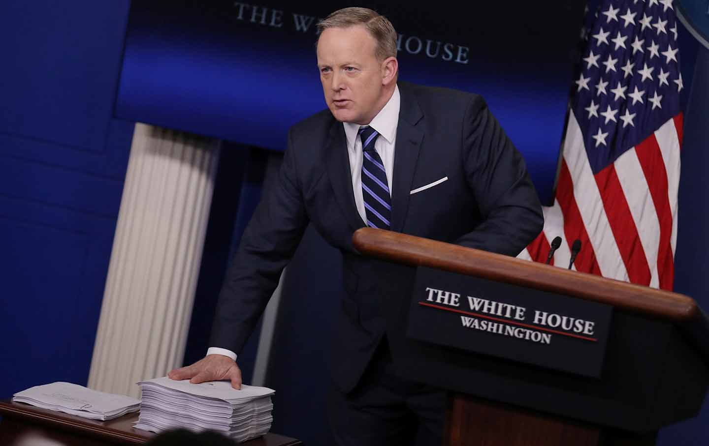 sean spicer papers