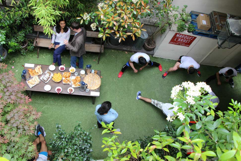 Claver Courtyard