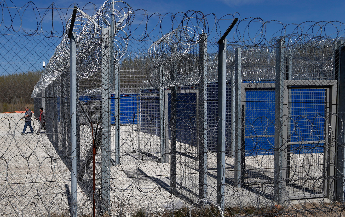 Image result for migrant detention camp plan