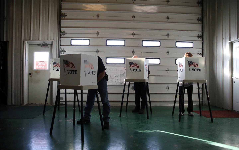 Iowa polling site