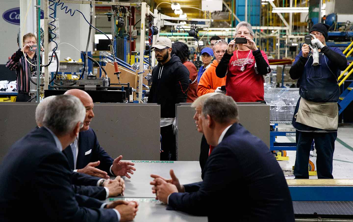 Back at the Carrier Plant, Workers Are Still Fighting on Their Own ...