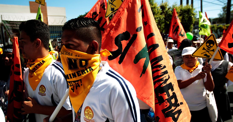 Image result for El Salvador ban on metal mining