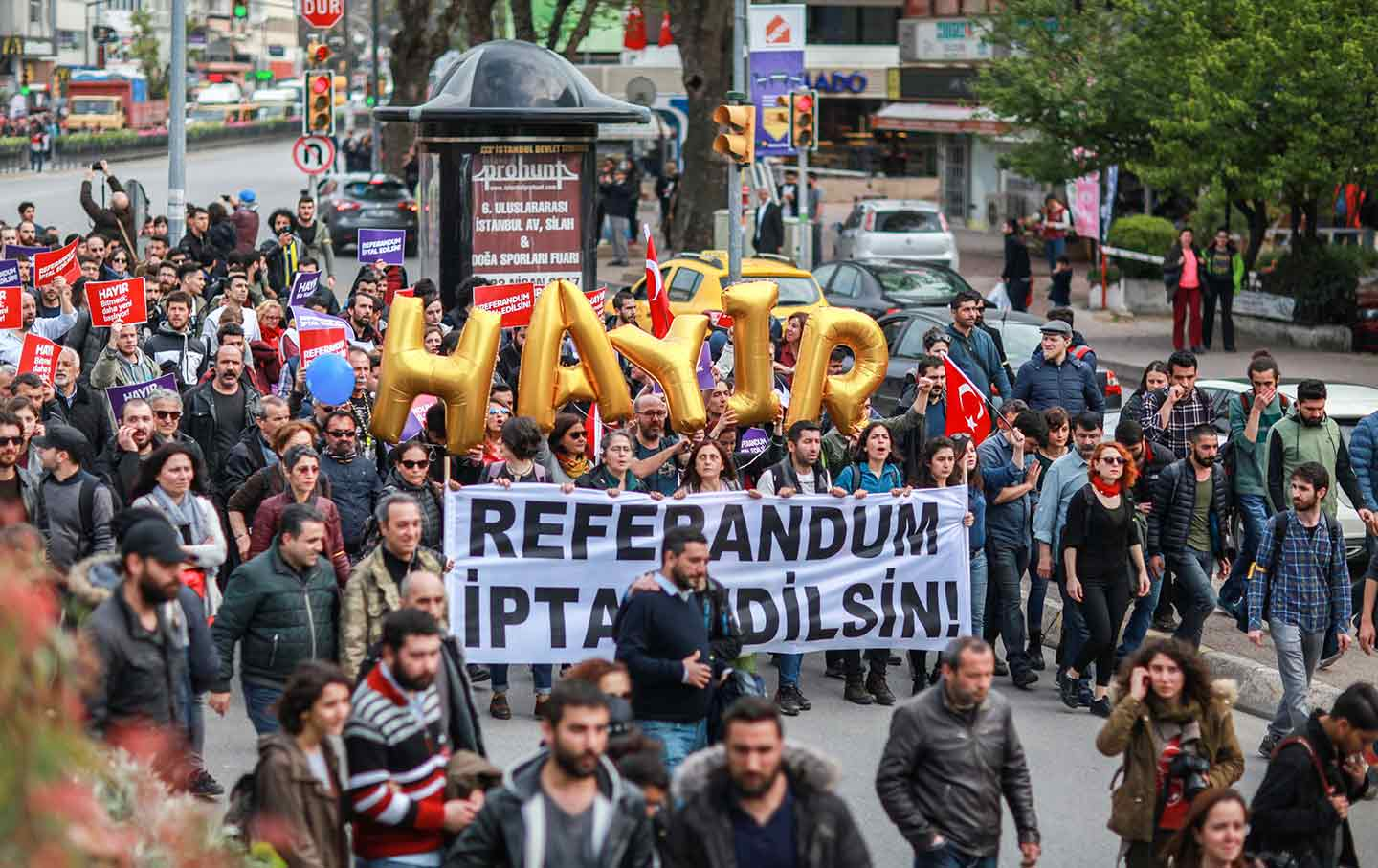 Anti-government protests in Turkey after the referendum