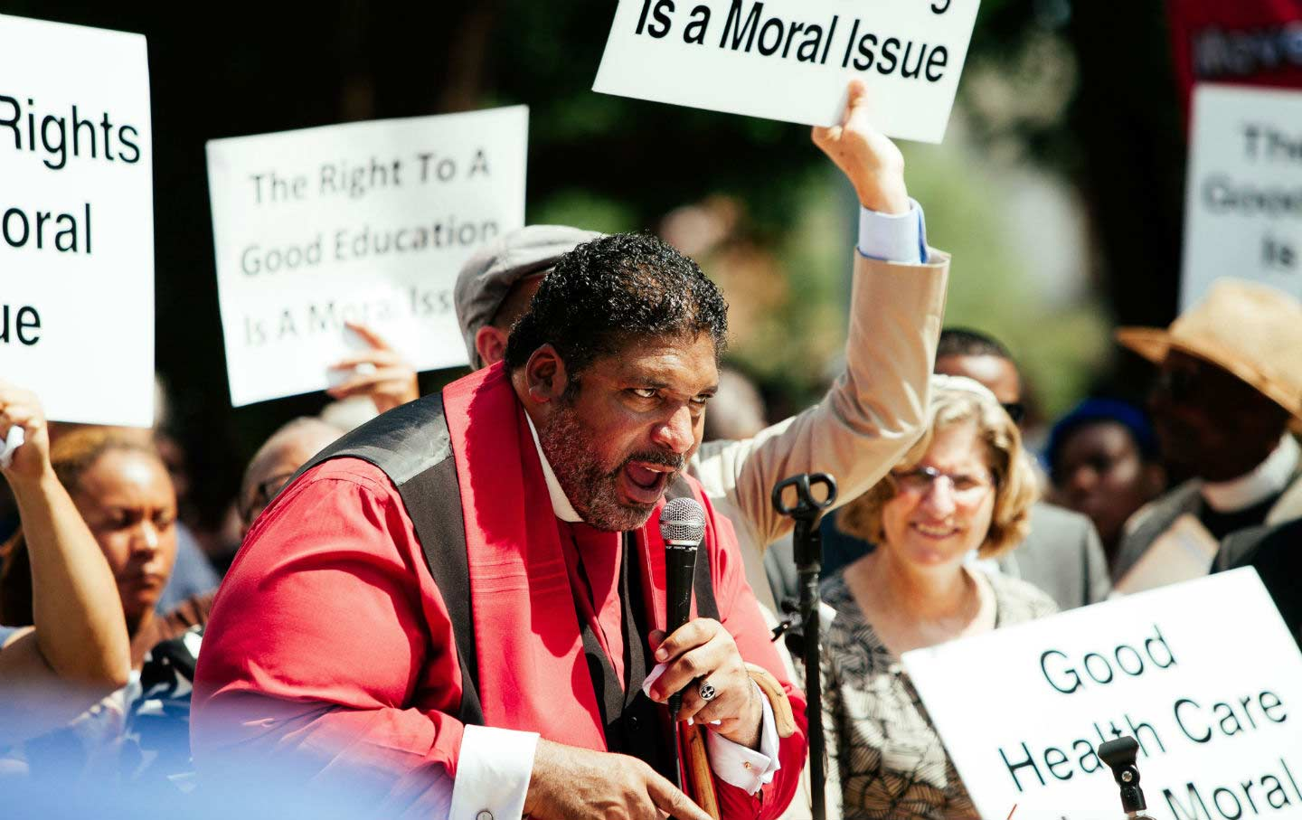 Rev. William Barber Moral Mondays