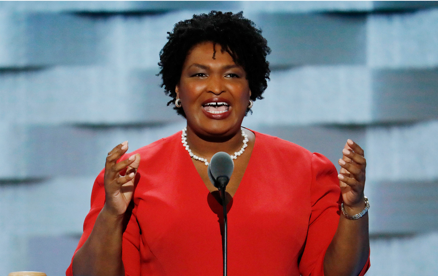 """Stacey Abrams: """"Number One, We Have to Have Vote-by-Mail"""""""