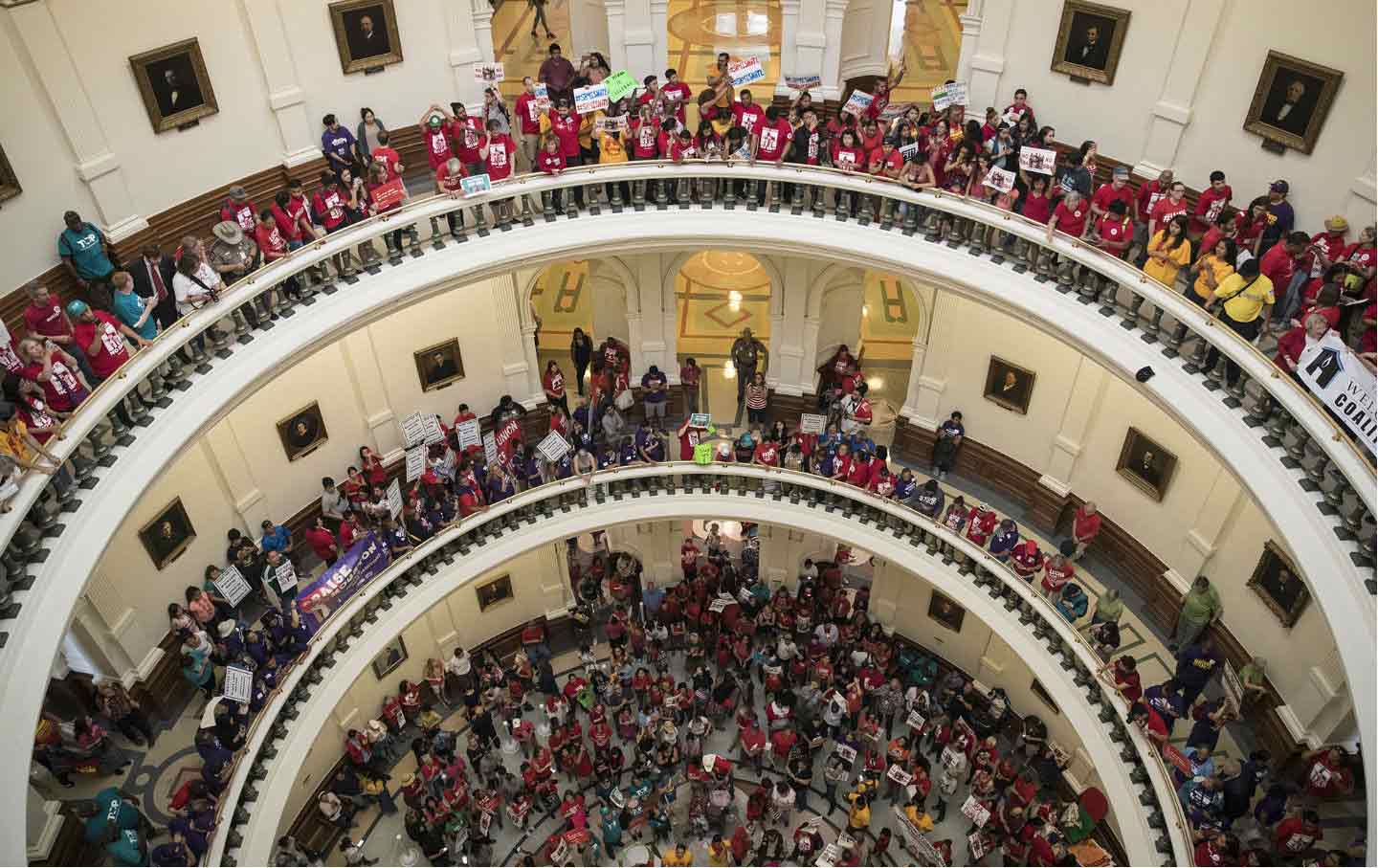 Texas Sanctuary City SB 4 Protest