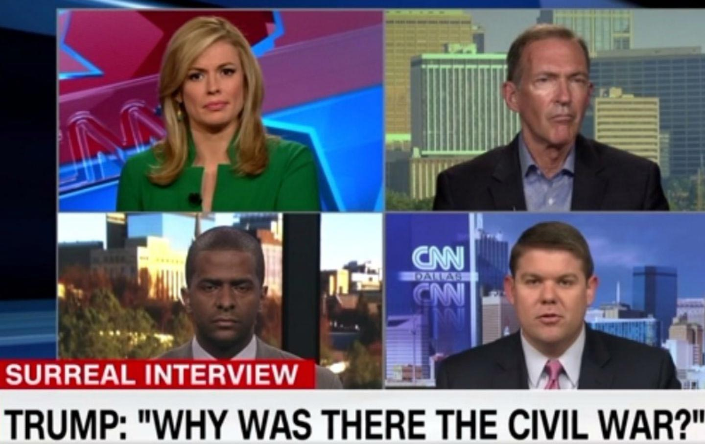 CNN Roundtable on Trump's Civil War Comments
