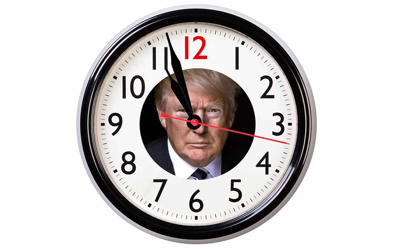 trump impeachment clock
