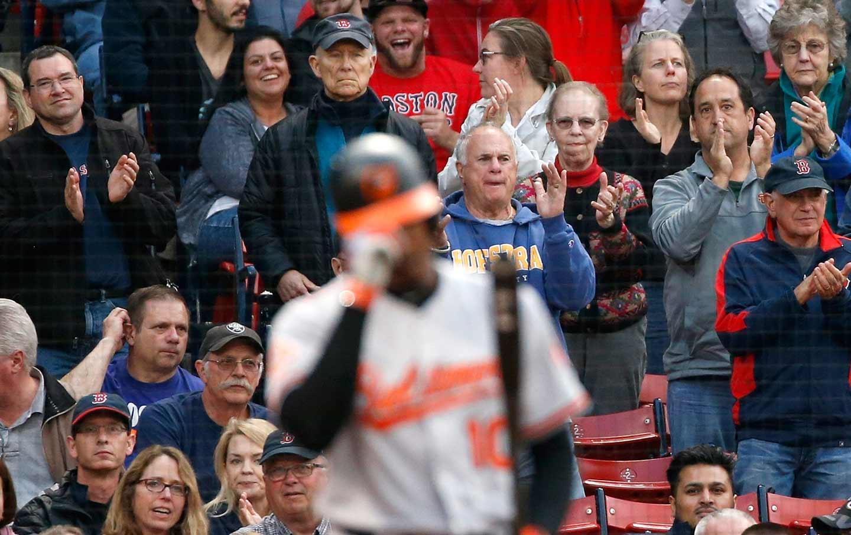 Red Sox Fans Hurled Peanuts, Racial Slurs At Player Adam Jones