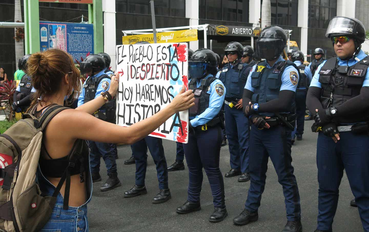 Puerto Rico May Day Strike
