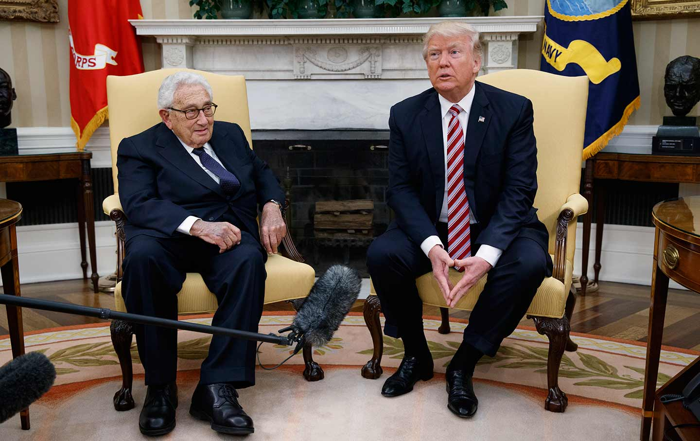 Trump and Kissinger