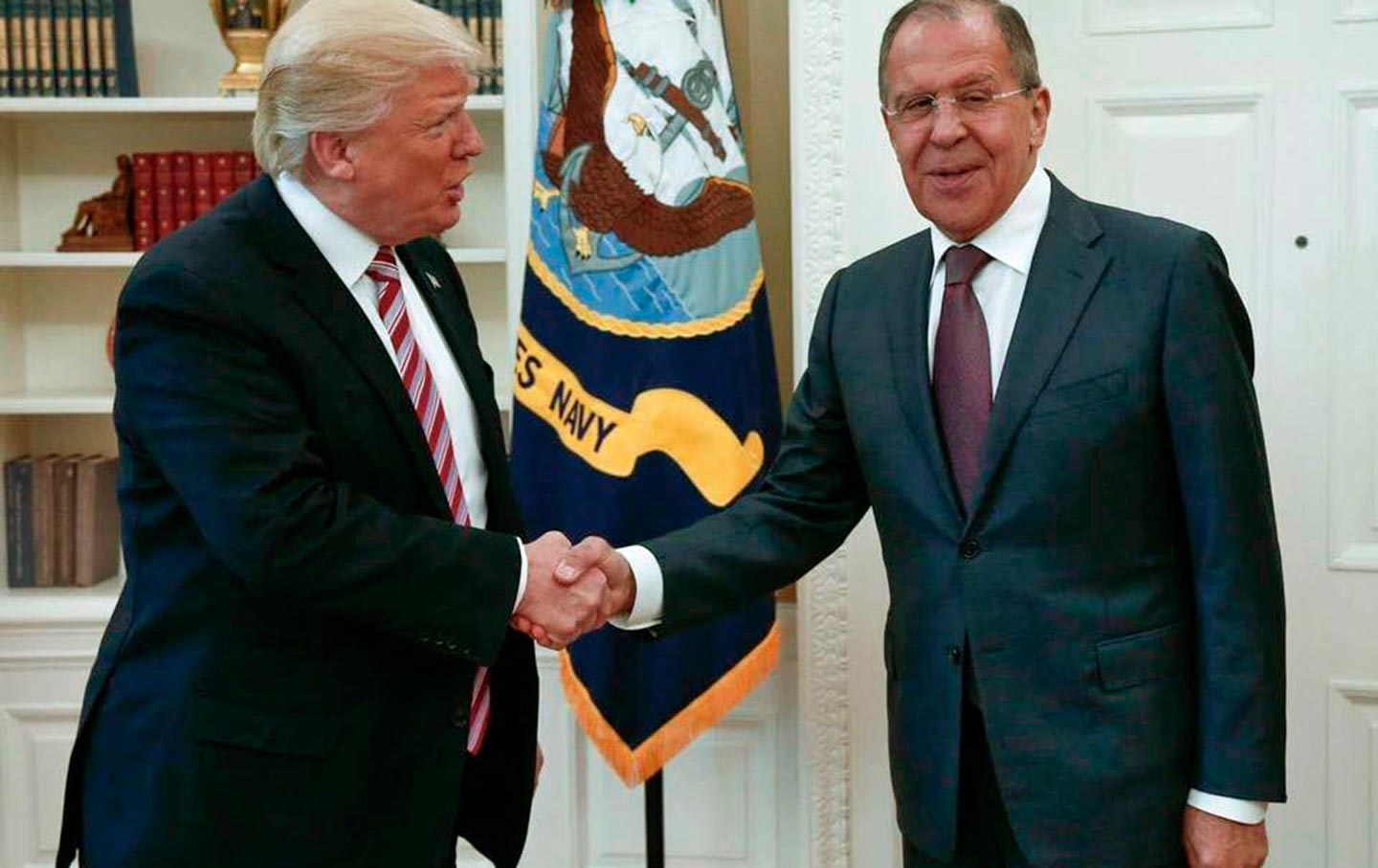 Trump and Lavrov