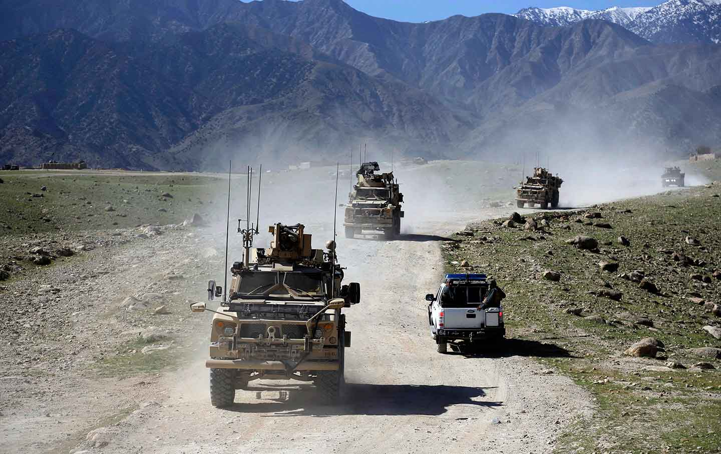 Afghan Escalation