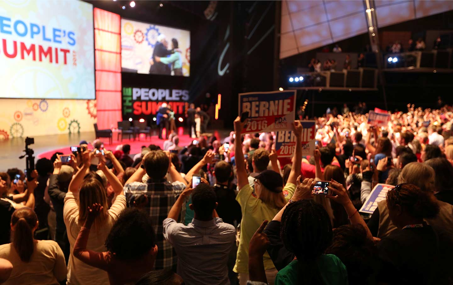 Bernie Sanders at People's Summit