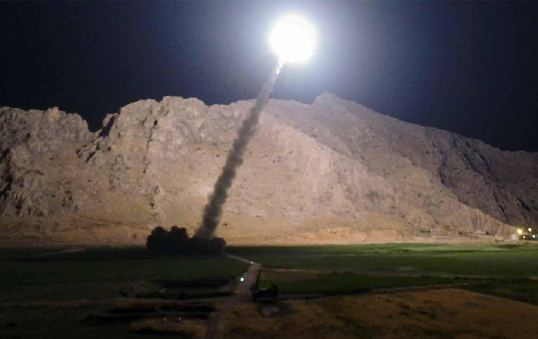 iran missile syria