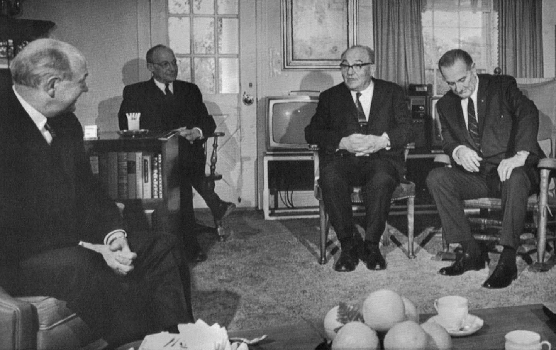 Johnson and Eshkol 1968