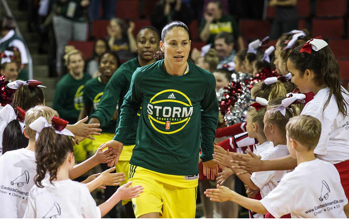 Seattle Storm players