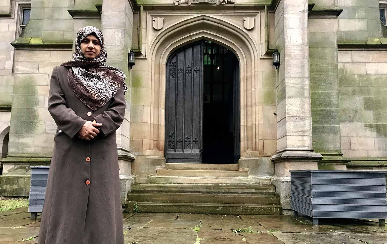 Saima Alvi, vice chair of the British Muslim Heritage Centre