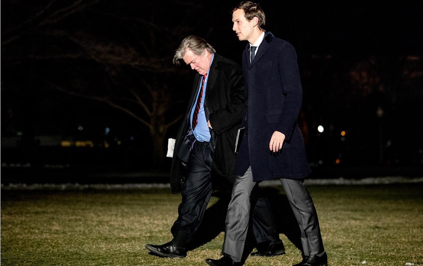Bannon and Kushner in Washington DC