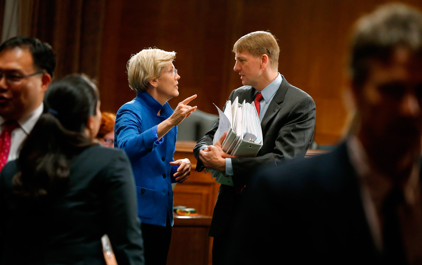Elizabeth-Warren-Richard-Cordray-CFPB-rtr-img