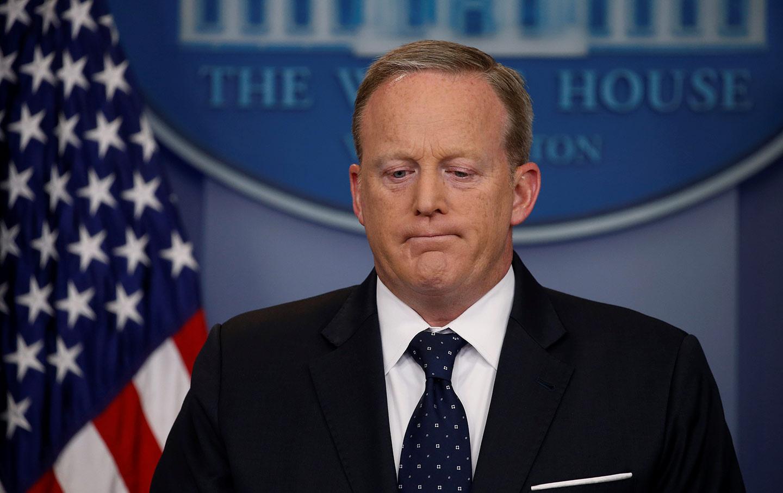 Sean Spicer Resignation