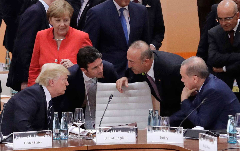 Trump, Merkel, Erdogan at G20