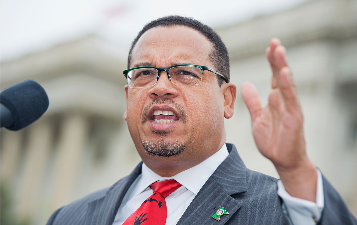 Ellison in DC, June 2015