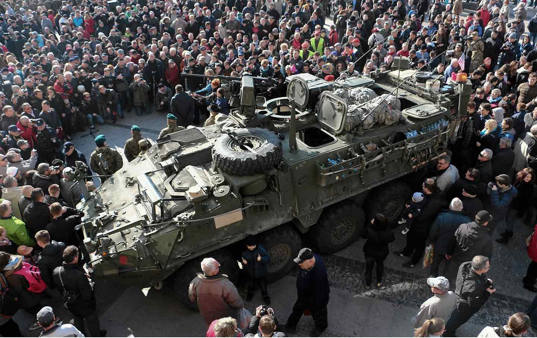 Tank in Poland