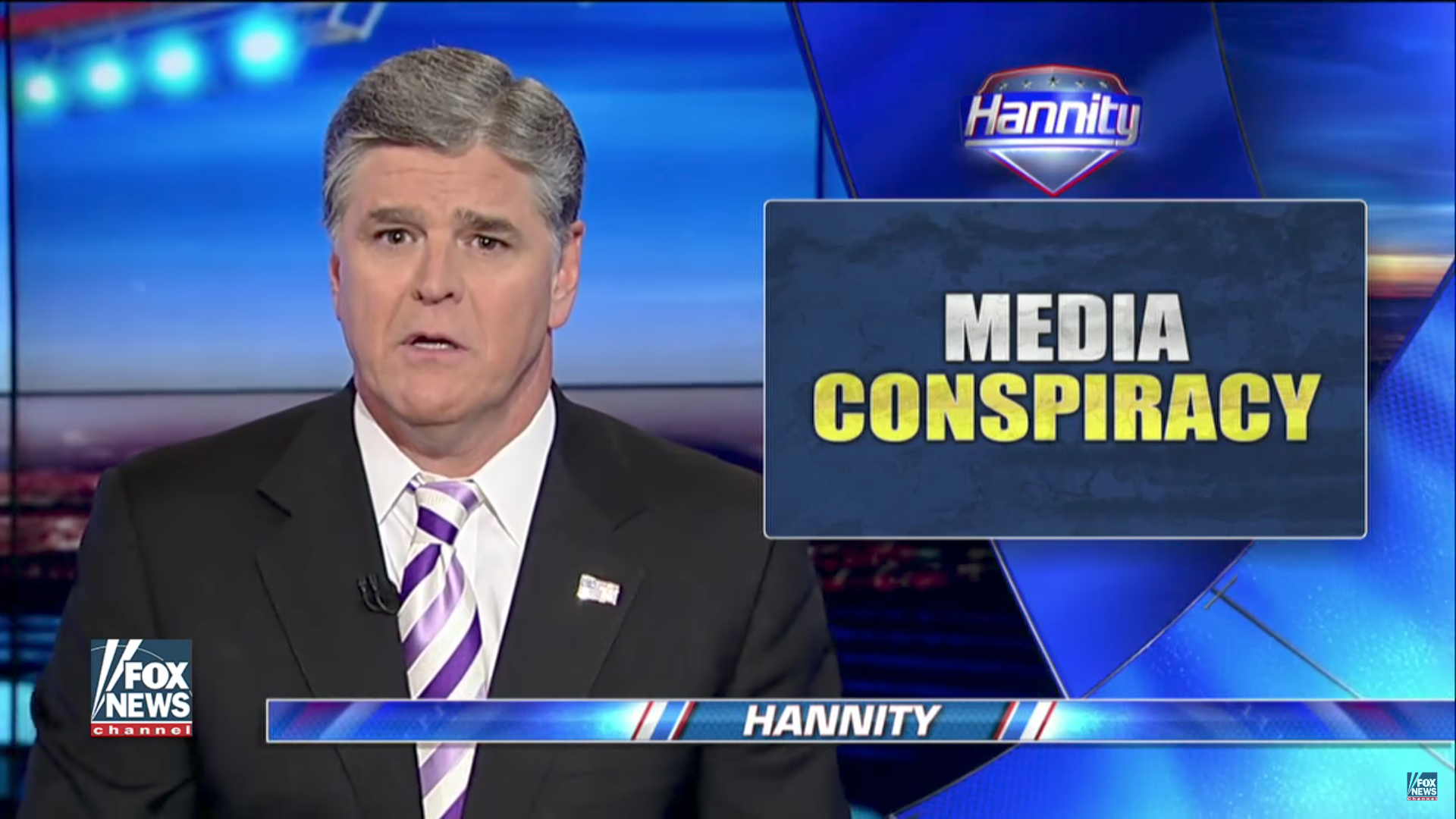 Sean Hannity of Fox News