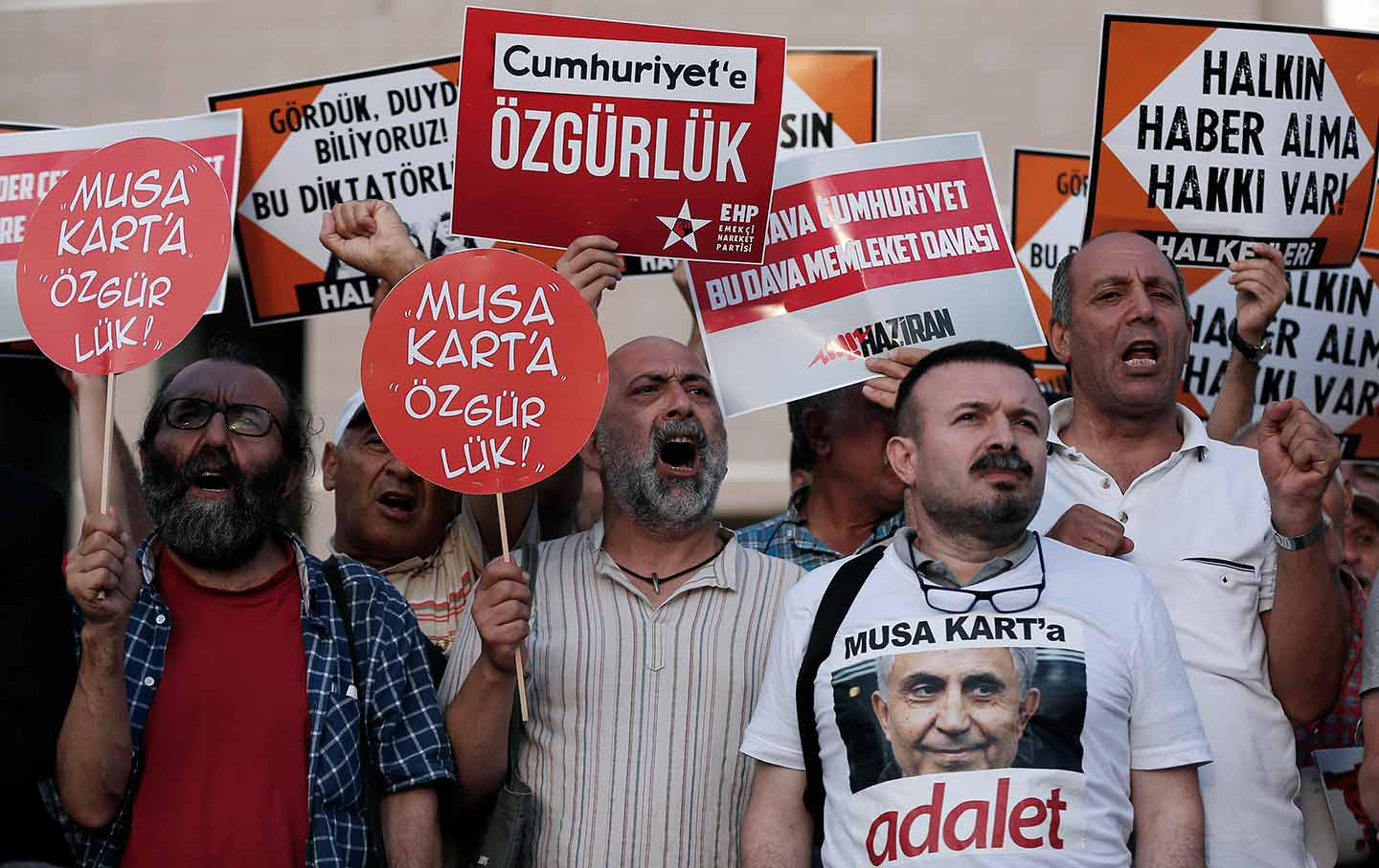 Turkish Journalists Trial