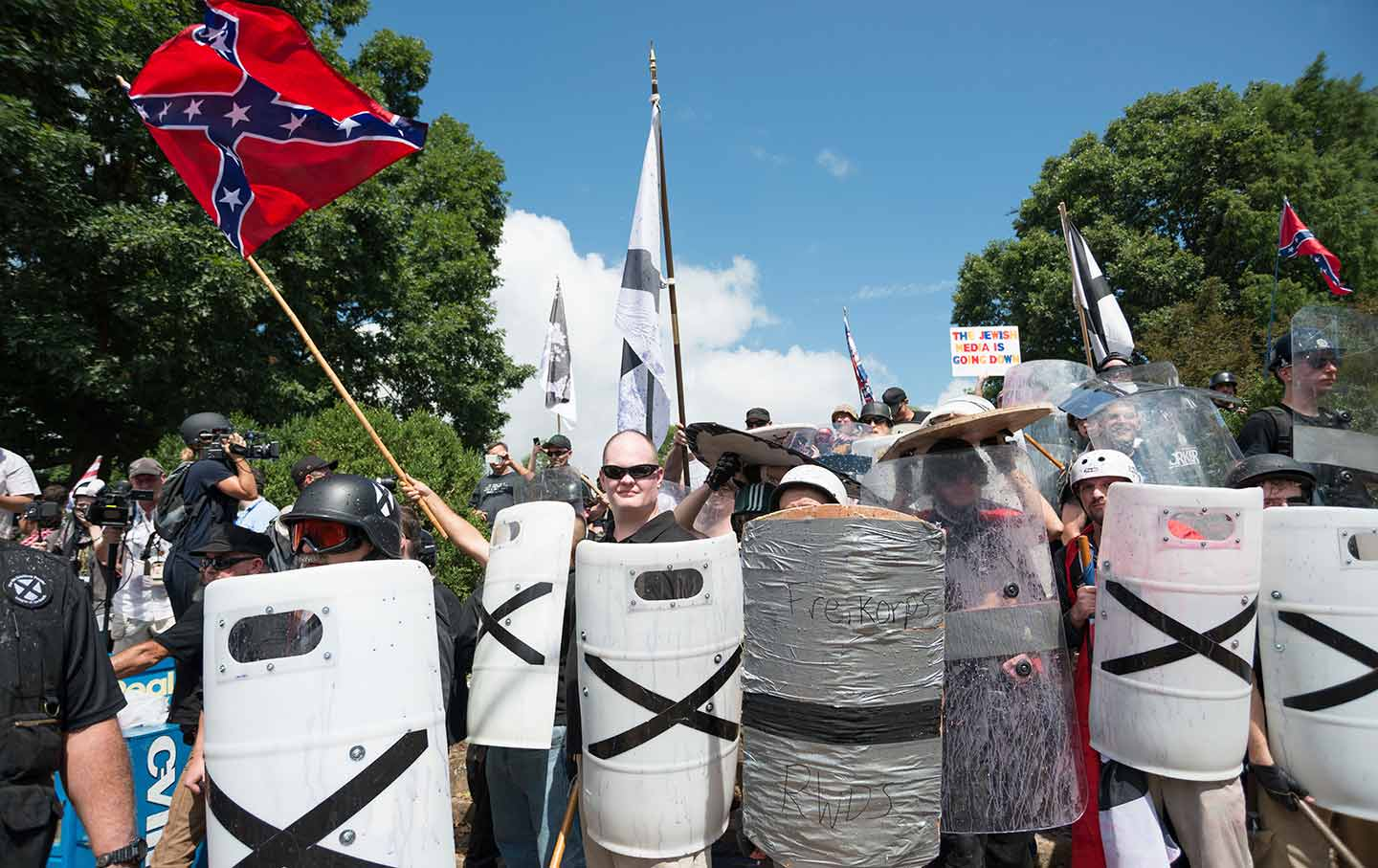 White Supremacists in Charlottesville