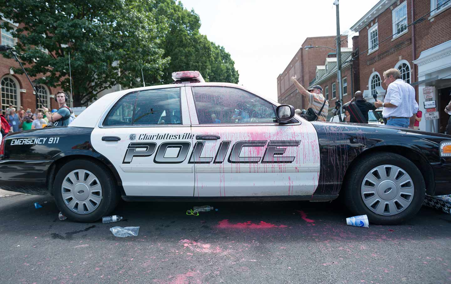 Charlottesville Police Car