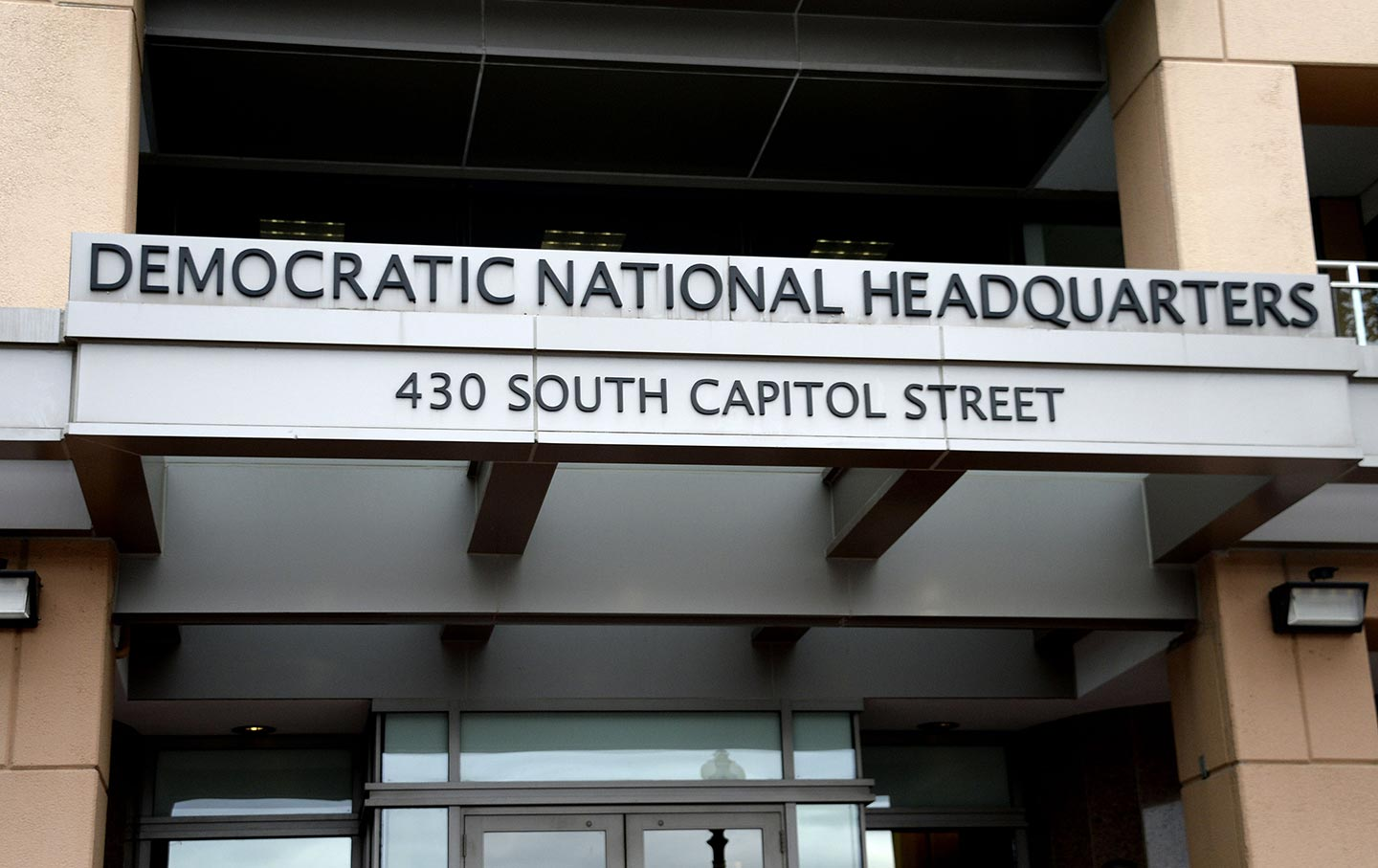 The Democratic National Committee Headquarters, October 27, 2016. (Sipa Via  AP Images)
