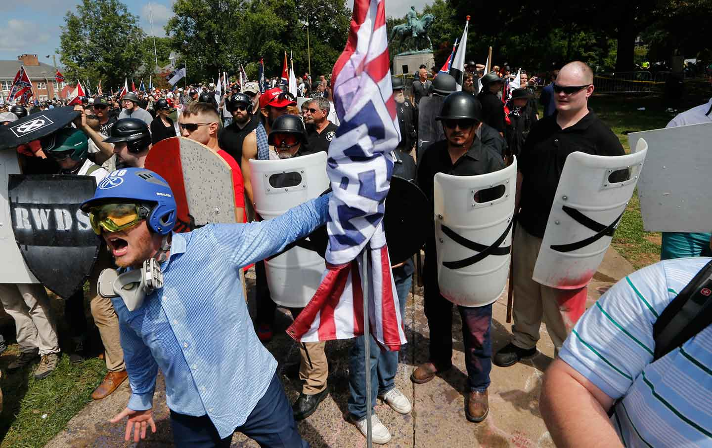 Charlottesville white supremacists