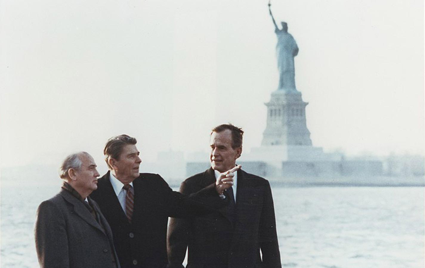 Gorbachev Reagan Bush