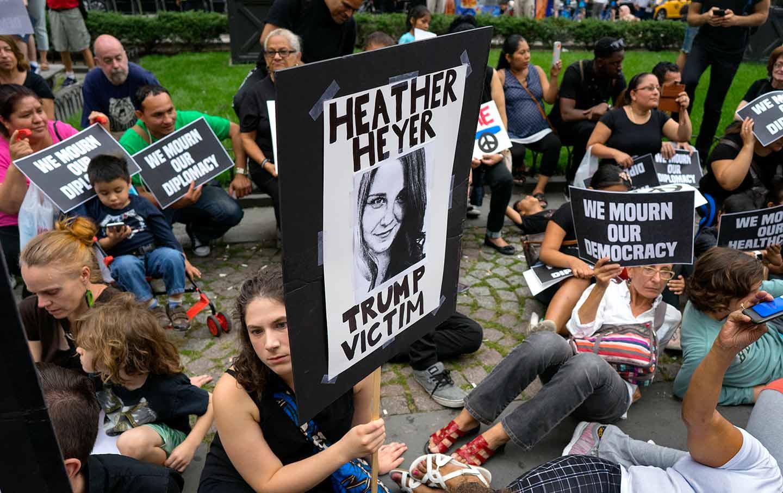 Heather Heyer Protest