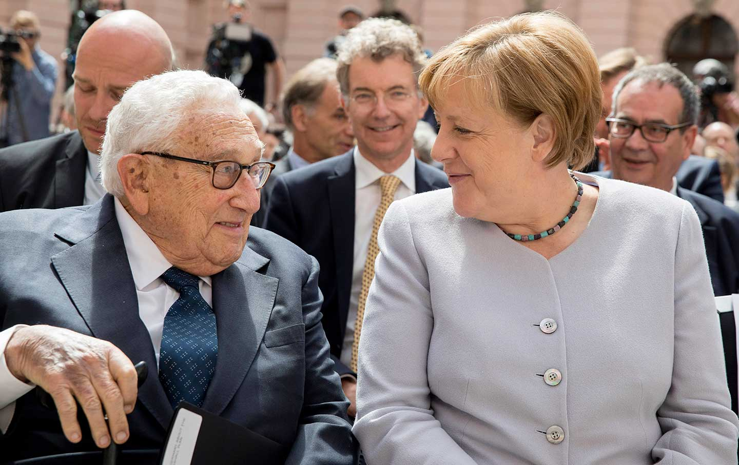Kissinger Merkel GMF