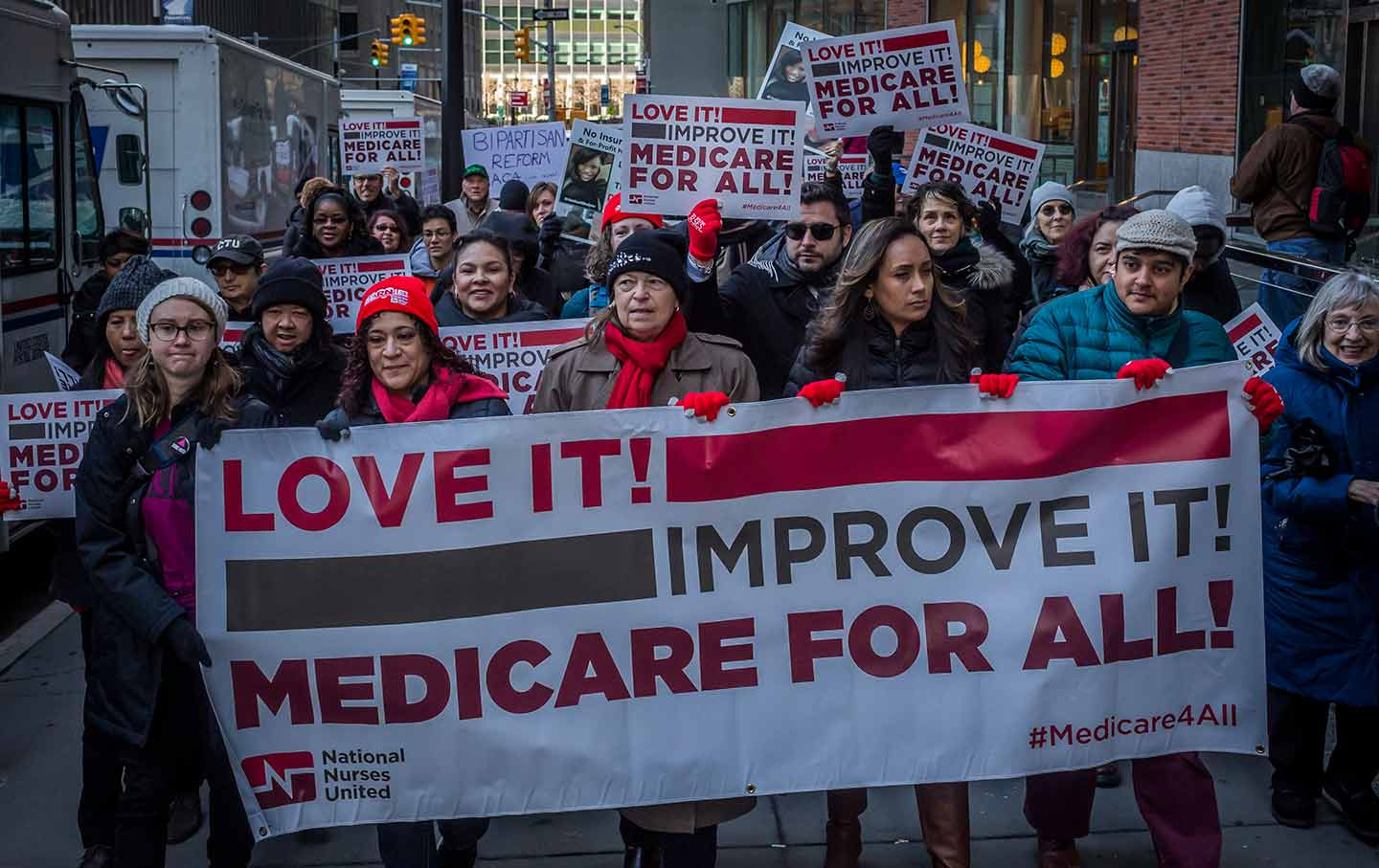 Medicare for All rally