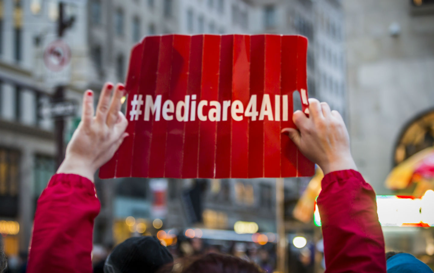 Medicare for all at Trump Tower