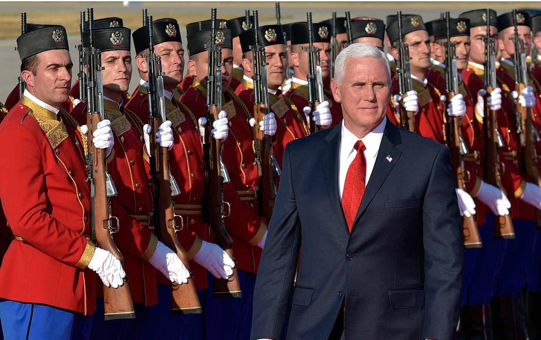 Pence in Montenegro