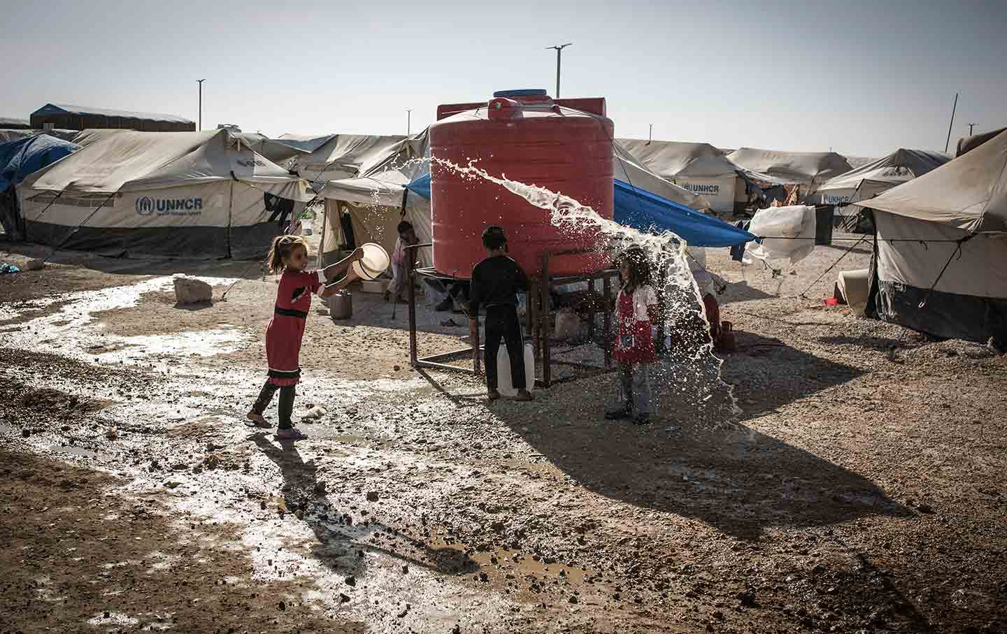 Ain Issa refugee camp