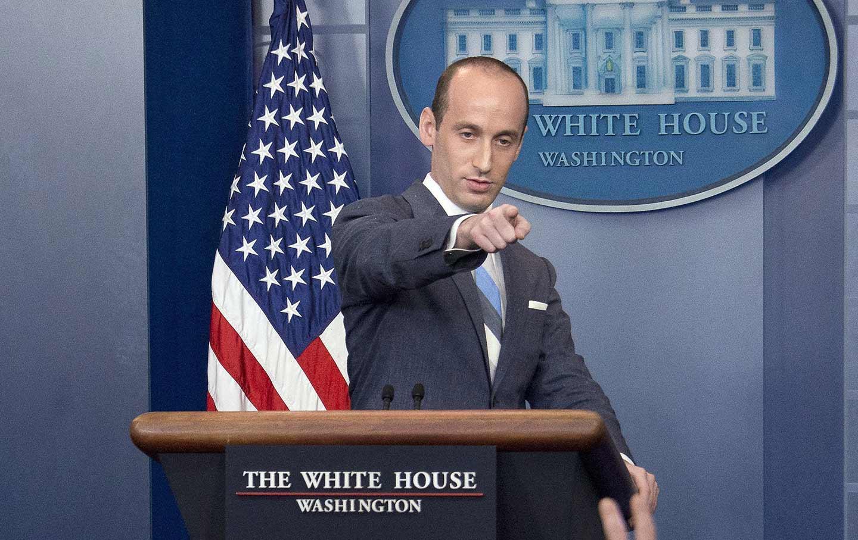 Stephen Miller Presser