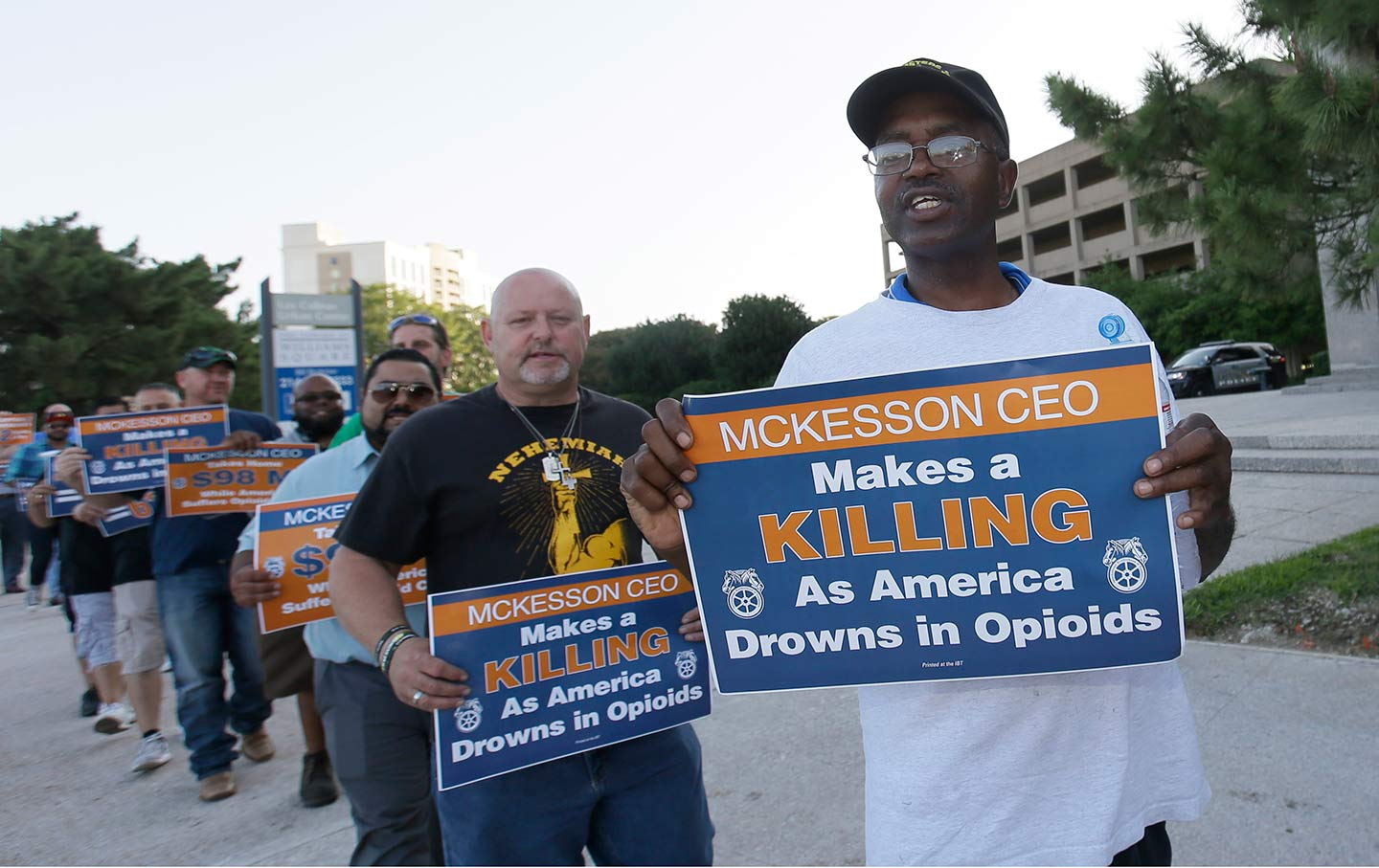 Teamsters Opioid Protest