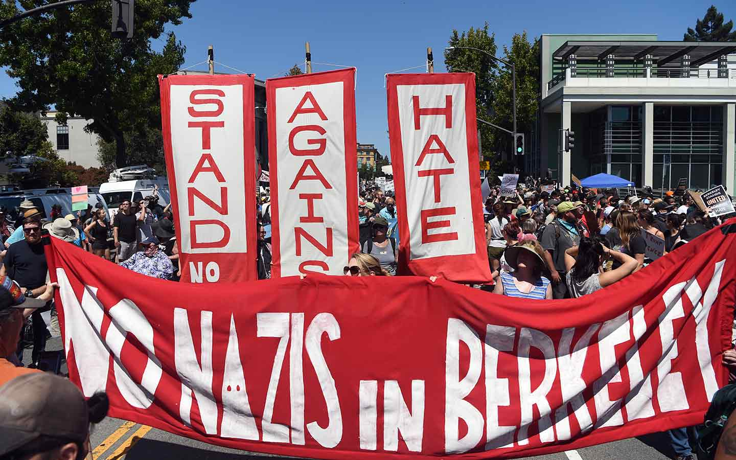 Why Berkeley's Battle Against White Supremacy Is Not About Free Speech